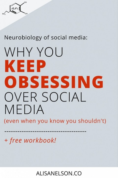 Why you keep obsessing over social media even when you know you shouldn't (+ free workbook)