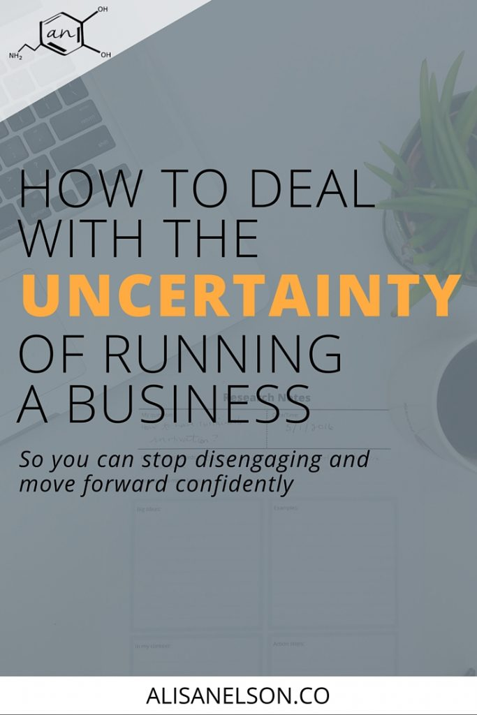 Uncertainty is certain. Business is not exception. I'm helping you build some awareness around two behaviors we tend to exhibit because we're letting uncertainty run the show. Learn how to deal with uncertainty and how to take back control of your focus and your drive.