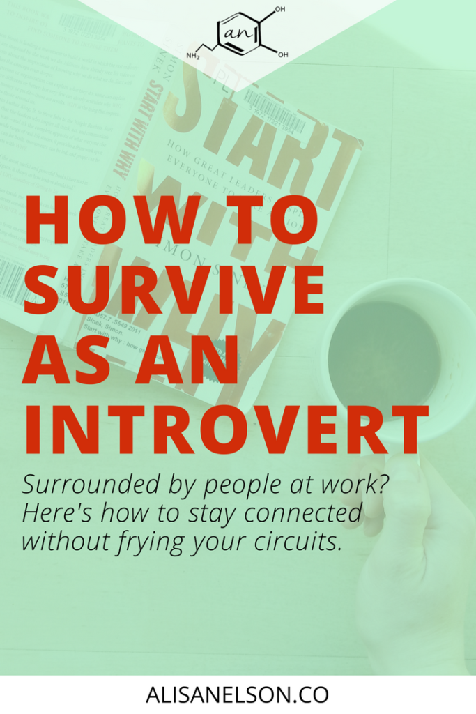 Are you an introvert that is constantly around people? Do you feel like all you can do at the end of a long week is stare at a wall? Staying connected is essential to serving people well - not to mention your own wellbeing. Read this post for 4 strategies to staying connected without frying your circuits week after week. More at http://alisanelson.co