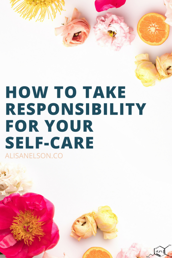 Self-care is more than how you pamper yourself...it's a way to think about our daily actions from our work environment to how we play. Read more: http://alisanelson.co