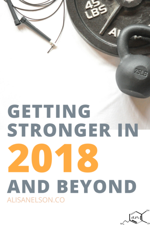 Getting Stronger in 2018