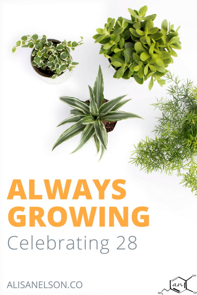 Birthday tradition: How did you grow in the last year? What new skills or experiences made the year unique?