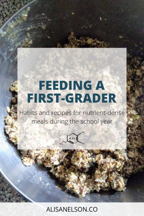 Feeding a first grader
